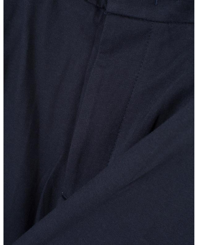 Pantalon décontracté en jersey PAOLO PECORA