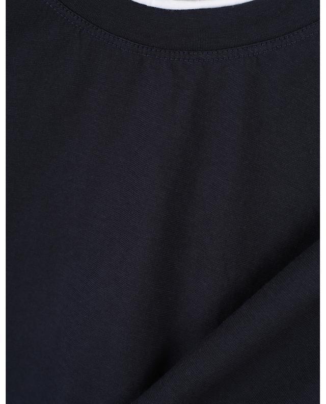T-shirt en coton bicolore PAOLO PECORA