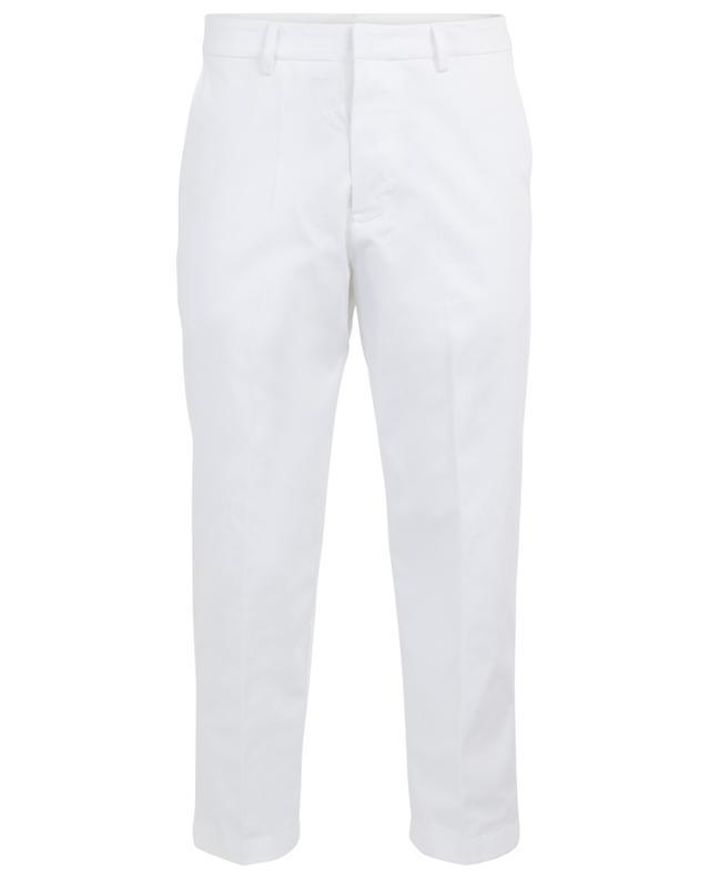 Pantalon chino casual en coton stretch PAOLO PECORA