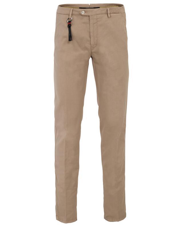 Pantalon chino slim en gabardine légère Maiori MARCO PESCAROLO