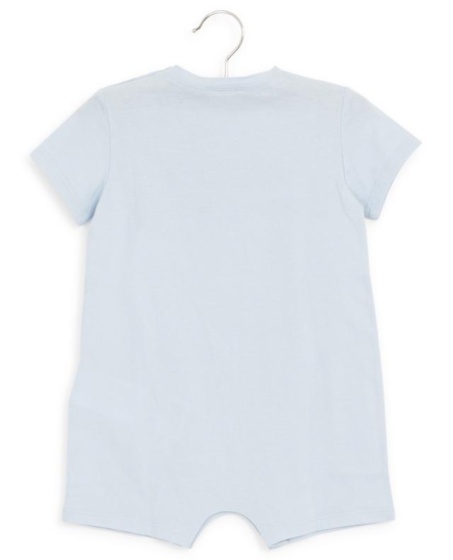 Barboteuse en jersey léger imprimé logo GUCCI