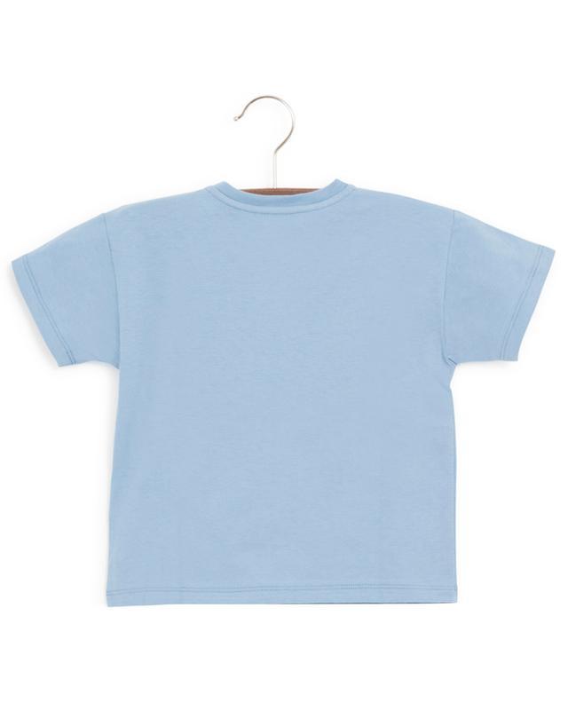 T-shirt en coton imprimé GG GUCCI
