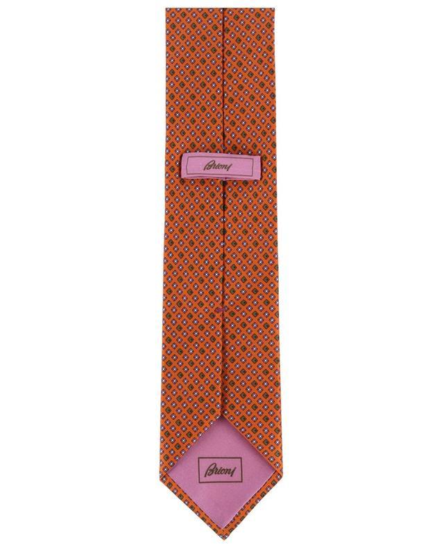 Cravate en soie imprimée BRIONI
