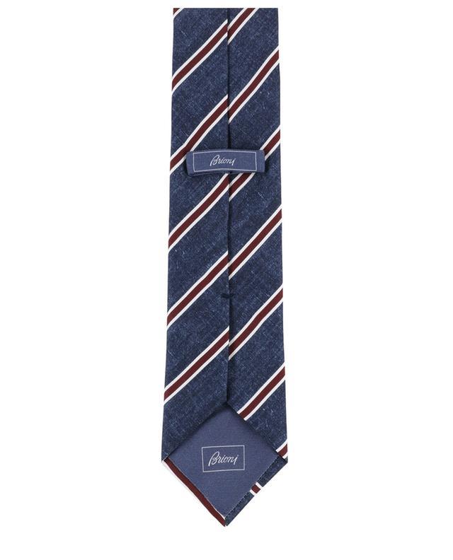 Cravate rayée en soie BRIONI
