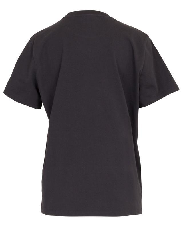 T-Shirt Boxy mit Logoprint Roses GANNI