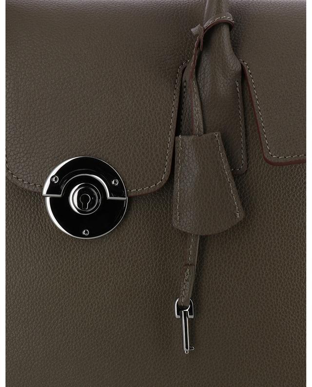 Grosse Handtasche aus genarbtem Leder Cortina BERTHILLE CHARLES ET CHARLUS