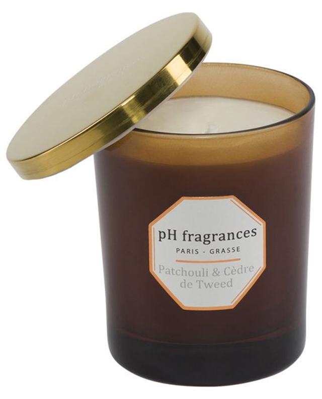Bougie parfumée Patchouli & Cèdre de Tweed PH FRAGRANCES