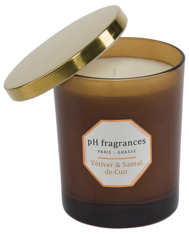 Bougie parfumée Vétiver & Santal de Cuir PH FRAGRANCES