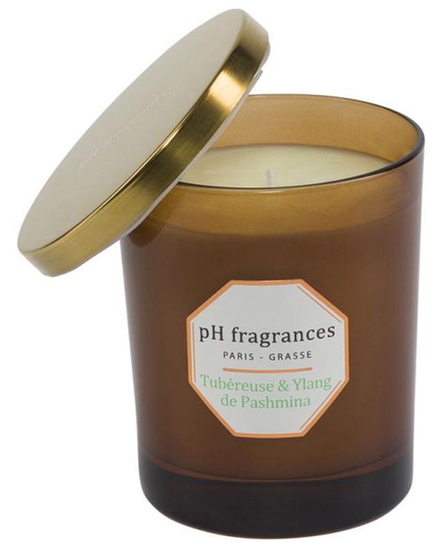 Bougie parfumée Tubéreuse & Ylang de Pashmina PH FRAGRANCES