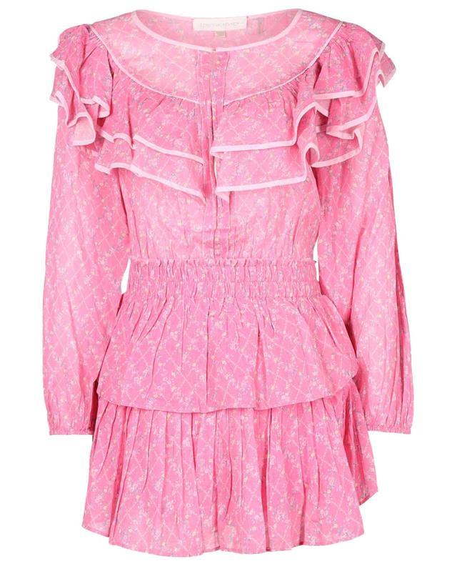 Robe courte en coton Luca LOVESHACKFANCY