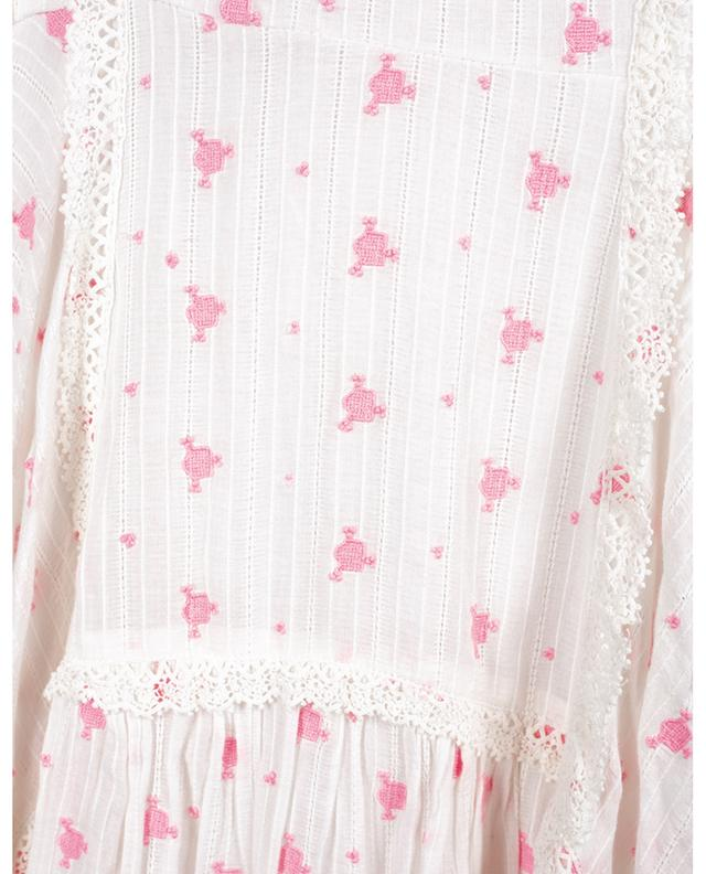 Longue robe en coton Jeanette LOVESHACKFANCY