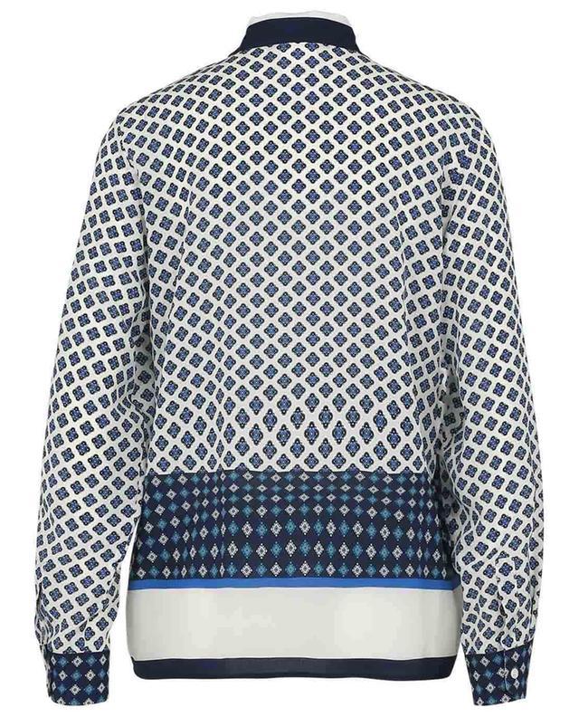 Micio loose silk shirt with shawl print WEEKEND MAXMARA