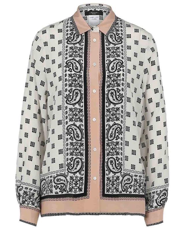 Nome scarf print silk shirt WEEKEND MAXMARA