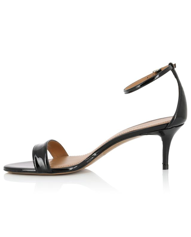 Sandales à talon en cuir verni Monique PURA LOPEZ
