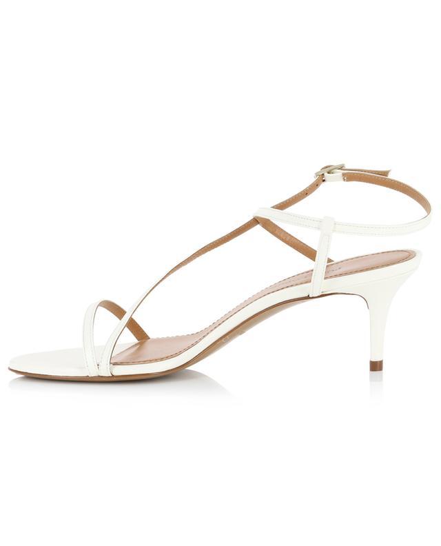 Sandalen aus Glattleder mit kleinem Absatz Laquenda PURA LOPEZ