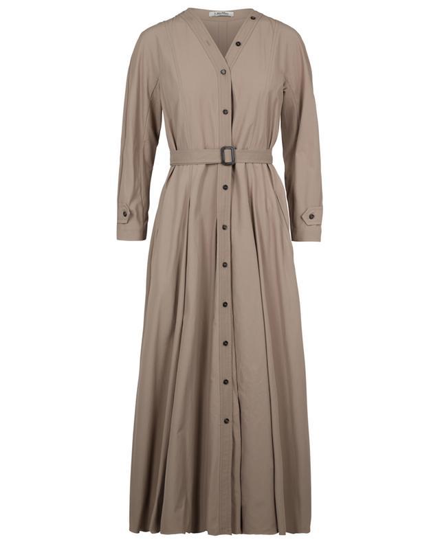 Ausgestelltes Kleid im Trenchcoat-Look Panca 'S MAXMARA