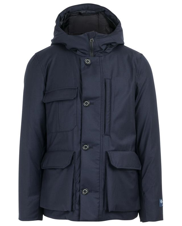Mountain Jacket virgin wool and silk parka WOOLRICH