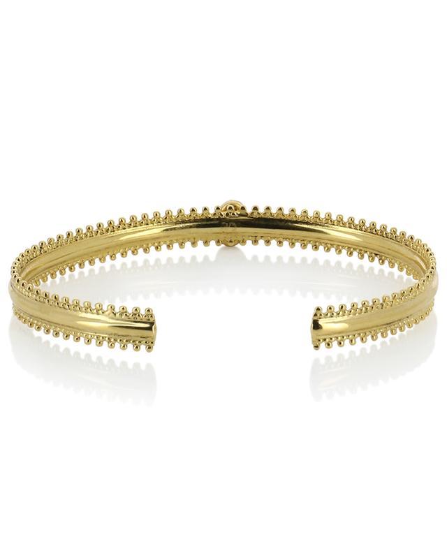 Jasmine gold-plated bangle LA2L