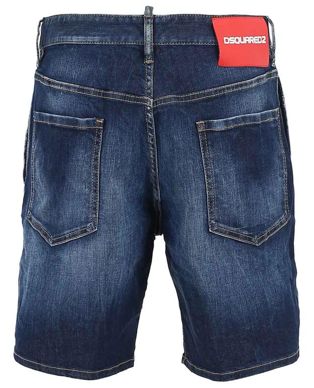 Faded denim shorts DSQUARED2