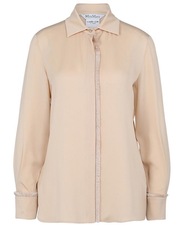 Mogador fringed silk shirt MAX MARA