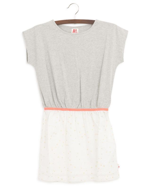 Star print sleeveless minidress AO76