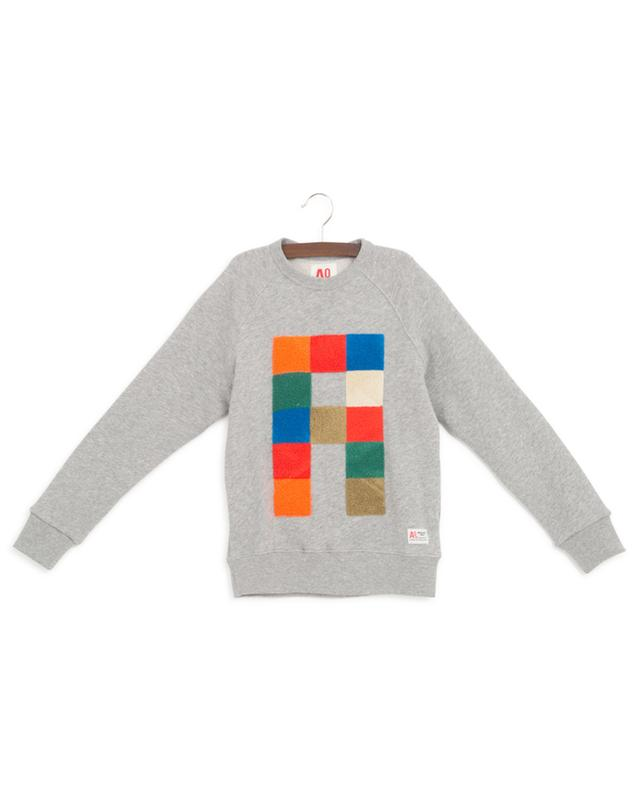 Sweat-shirt en coton A AO76
