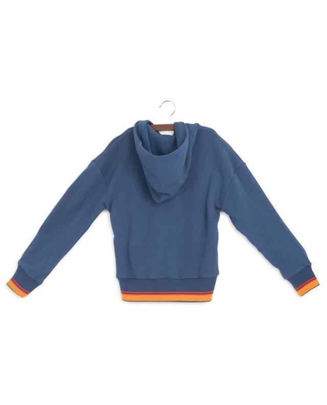 Sweat-shirt zippé avec rayures AO76