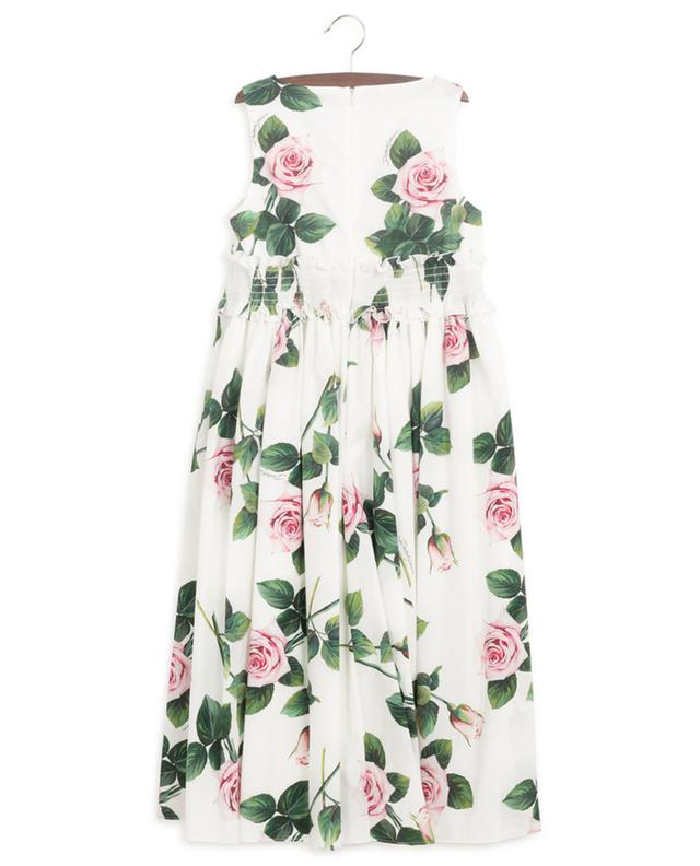 Tropical Rose sleeveless long dress DOLCE & GABBANA