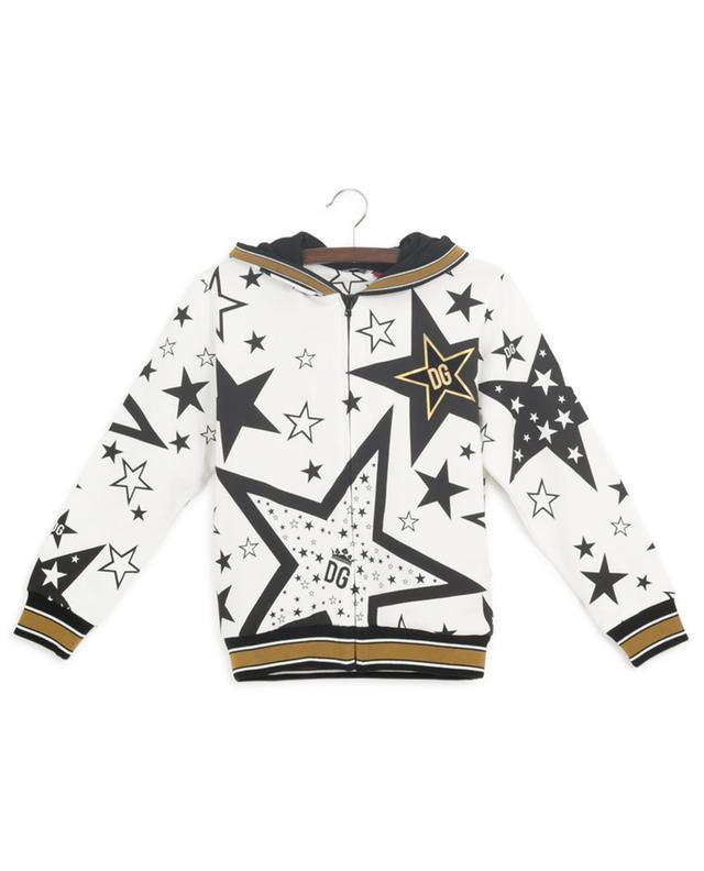 Sweat-shirt zippé imprimé Millennials Star DOLCE & GABBANA