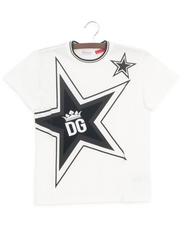 T-shirt en jersey floqué Millennials Star DOLCE & GABBANA