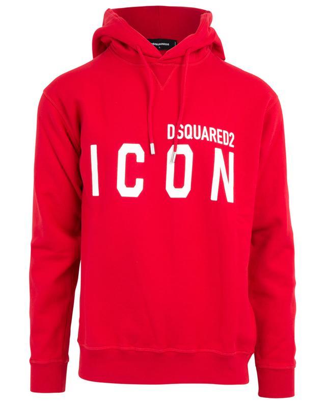 DSQUARED2 Sweat shirt à capuche imprimé Icon Bongénie Grieder