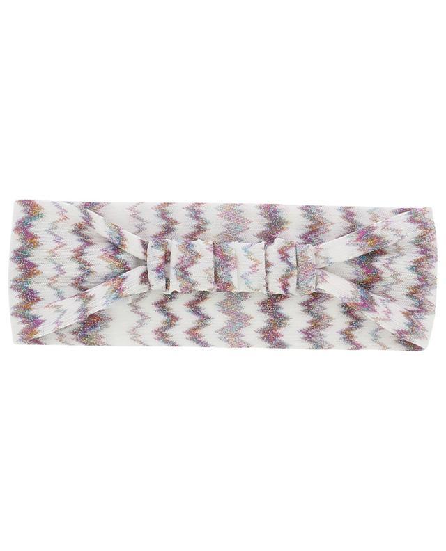 Stirnband aus Metallic-Crêpe MISSONI MARE