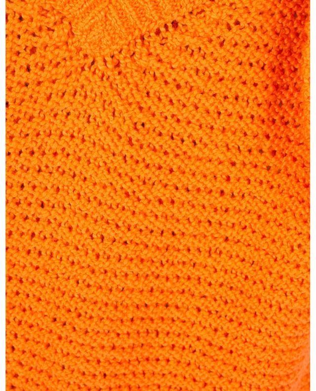 Pull tricot col V en coton GRAN SASSO