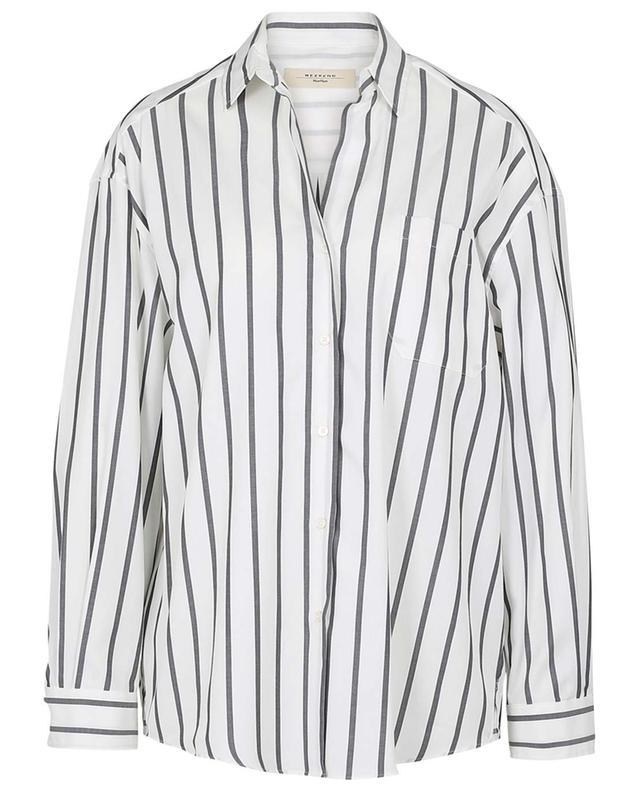 Libano loose striped cotton shirt WEEKEND MAXMARA