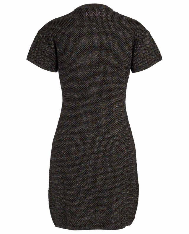 Capsule Holiday ruffled sparkling knit dress KENZO