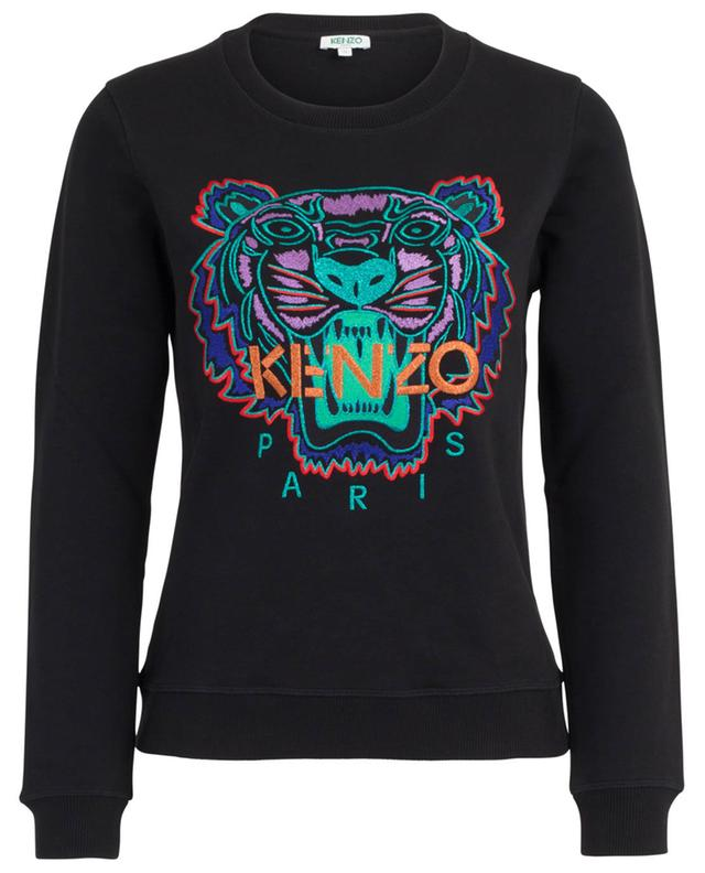 Tiger Capsule Holiday Lurex embroidered sweatshirt KENZO