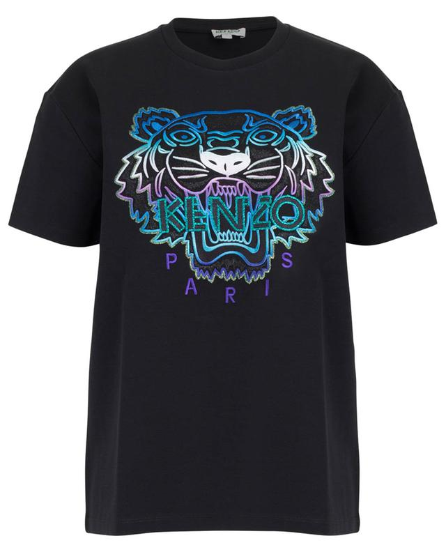 T-shirt brodé lurex Tiger Capsule Holiday KENZO