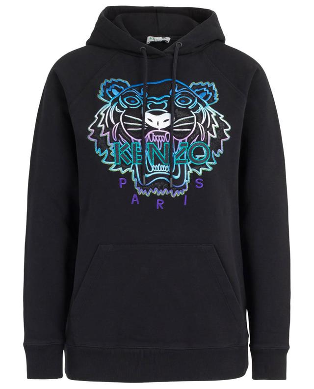 Tiger Capsule Holiday hooded Lurex embroidered sweatshirt KENZO