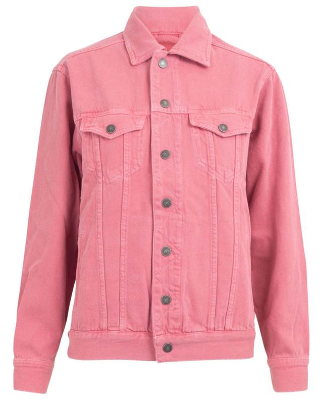 Blouson en denim rose Tineborow AMERICAN VINTAGE