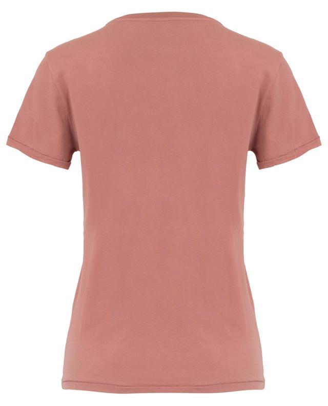 T-shirt col rond en coton bio Vegiflower AMERICAN VINTAGE