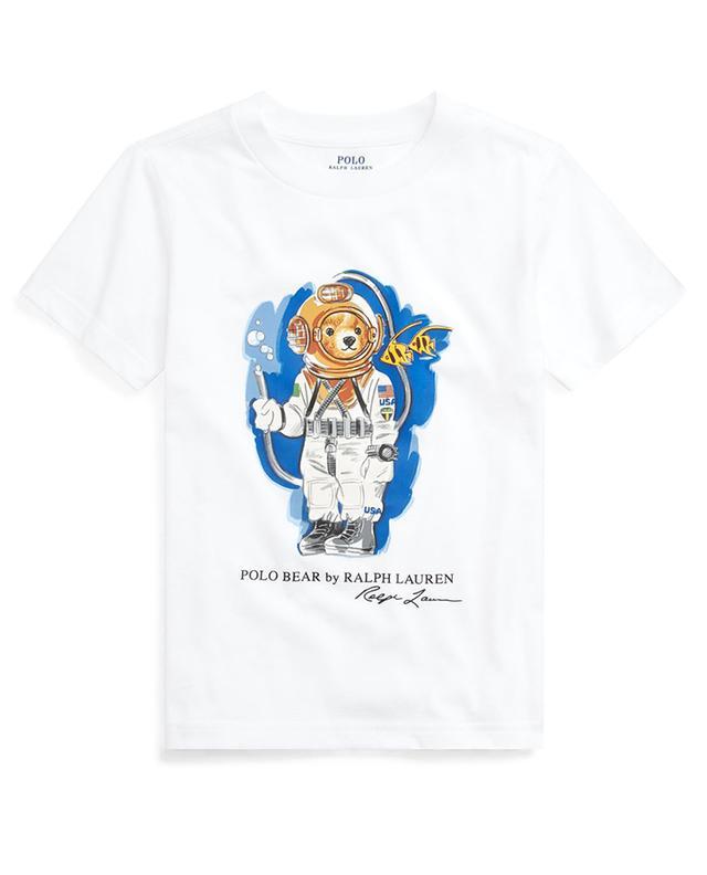 T-shirt en jersey imprimé Diving Bear POLO RALPH LAUREN