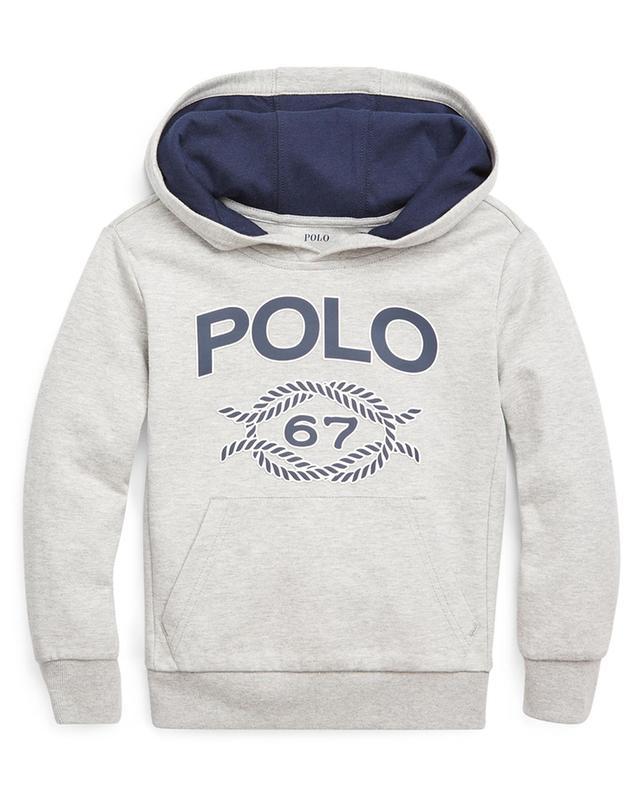 Sweat-shirt chiné à capuche Polo 67 POLO RALPH LAUREN