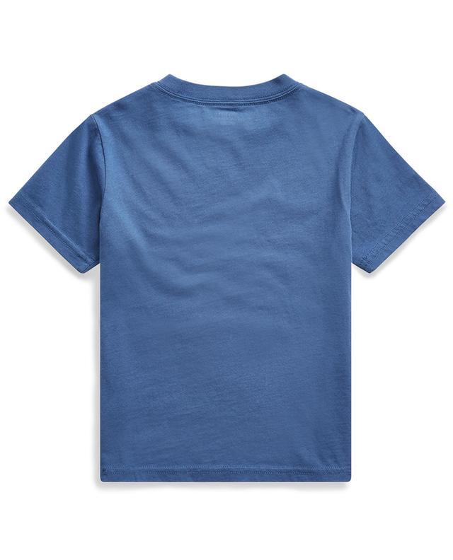 T-shirt à col rond imprimé logo et ancre POLO RALPH LAUREN