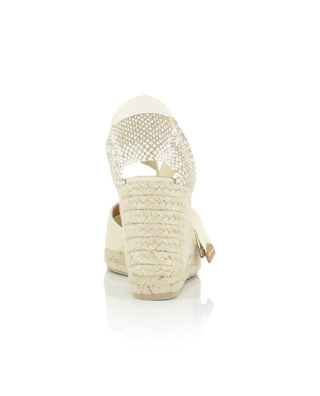 Carina 9 cm lace-up wedge espadrilles CASTANER