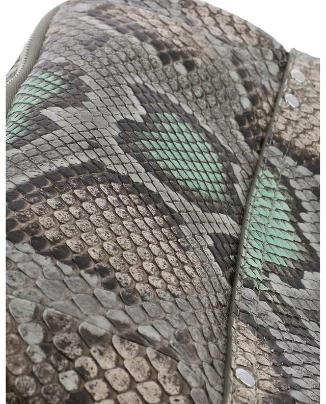 Sac porté épaule en cuir et python Bobi JEROME DREYFUSS