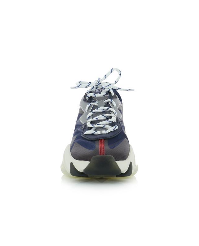 Baskets à lacets en tissu technique transparent Eclipse Bis ASH