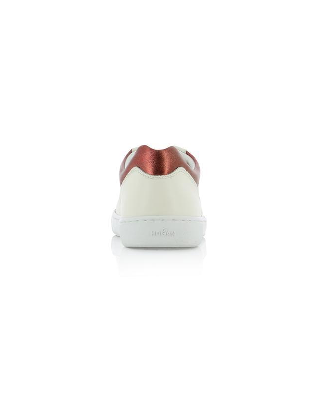 Baskets en cuir perforé R327 HOGAN