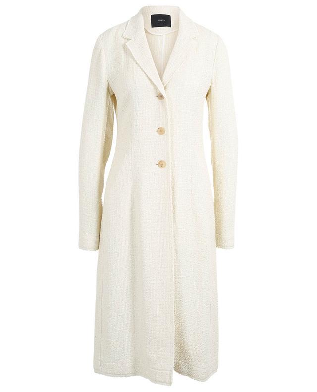 Manteau en tweed à chevrons Cierra JOSEPH