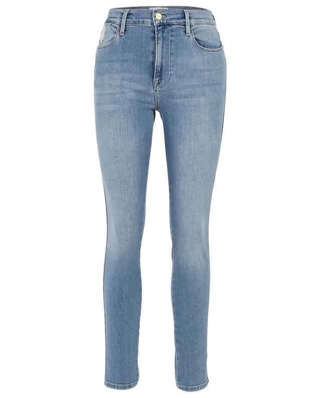 Jean skinny délavé taille haute Le High Skinny FRAME