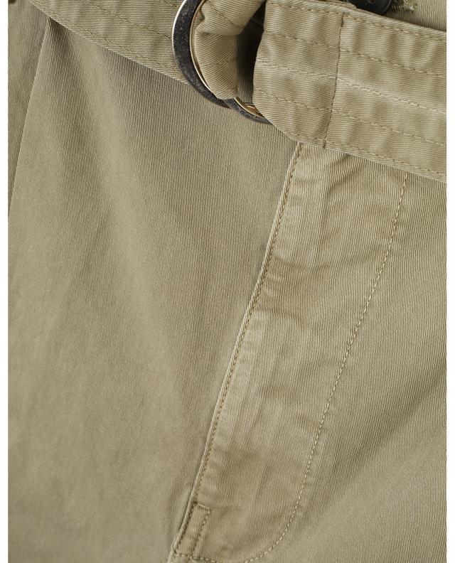 Pantalon droit inspiration utilitaire avec ceinture Safari Cargo FRAME